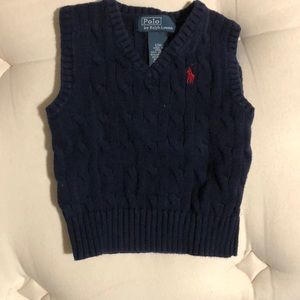 NWOT Polo Sweater Vest